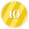 10 Points Icon