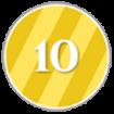 10 Points Icon