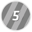 5 Points Icon
