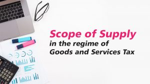 GST scope of supply
