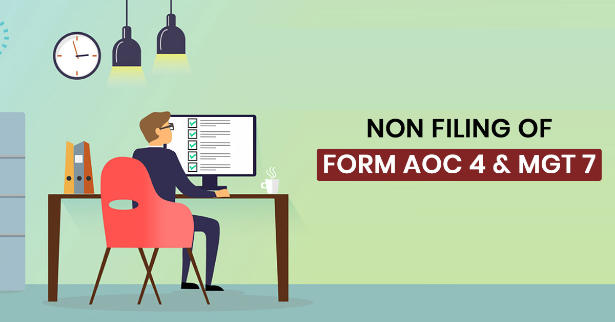 Non-Filing Form AOC 4 and MGT 7