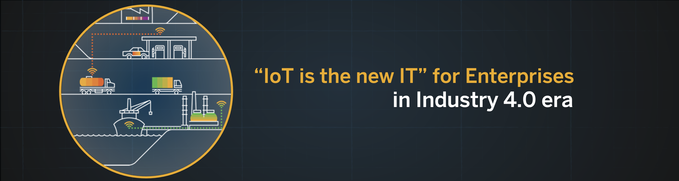 """IoT is the new IT"" for enterprise landscapes in Industry 4.0 era"