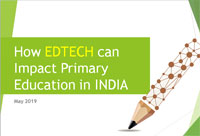 How Edtech can impact primary education in India