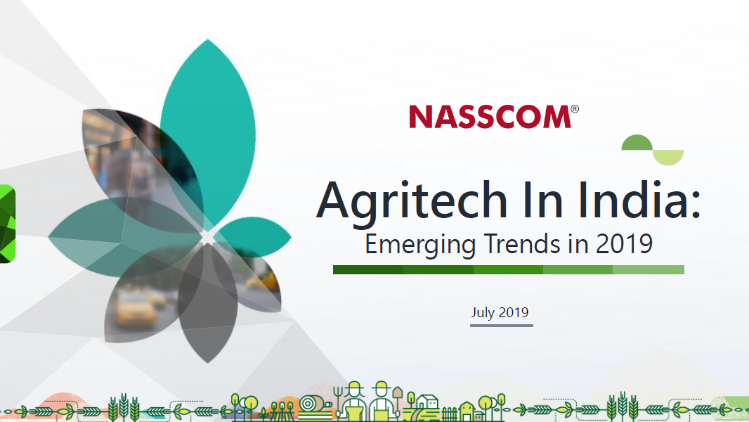Agritech In India – Emerging Trends In 2019