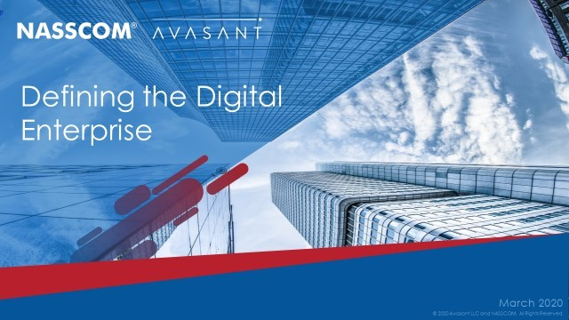 Defining the Digital Enterprise – Mar 2020