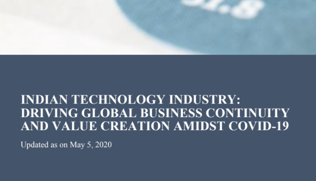 Indian Technology Industry: Driving Global Business Continuity and Value Creation amidst COVID-19